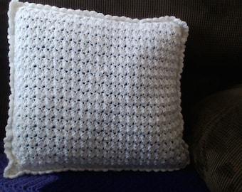 crochet pillow cover,handmade