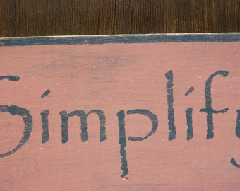 Primitive Sign - Simplify