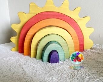 Large Sun Rainbow Stacker