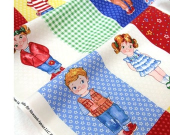 Today's Paper Dolls From Newcastle Fabrics sold By the Panel