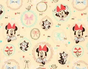 Disney  Minnie Mouse Character Fabric made in Korea by the Half Yard