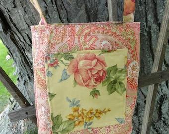 Reversible Small Cotton Cross Body Bag
