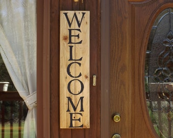 Welcome Wall Decor welcome wall sign   etsy