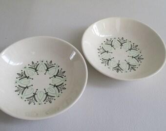 Mid Century Del Ray Harmony House Small Bowls Set of 2