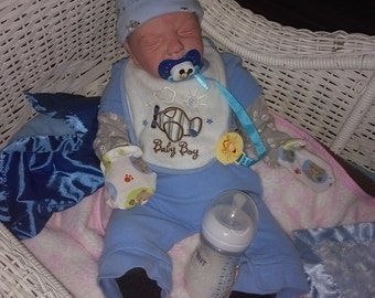 REBORN BABY BOY Ooak Beautiful