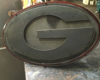 Custom Metal Georgia Sign