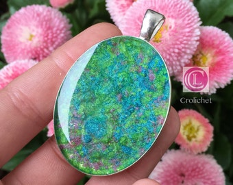 Pendant plated resin