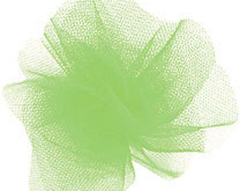 Lime tulle     (07-S-262)