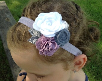 Roses and Lace Headband