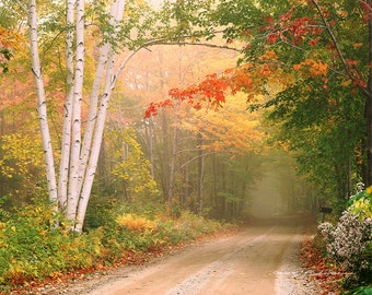 Cilley Hill Road. Underhill, Vermont