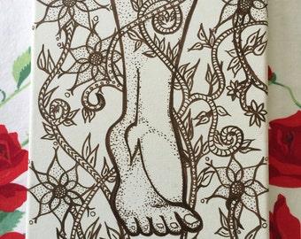 Foot in Nature Original Art