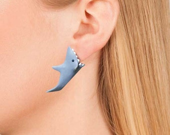 Jaws Shark Earrings