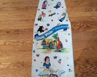 Snow White Child's Metal Ironing Board