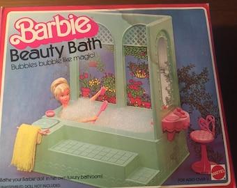 Vintage 1970's Mattel Barbie Beauty Bath