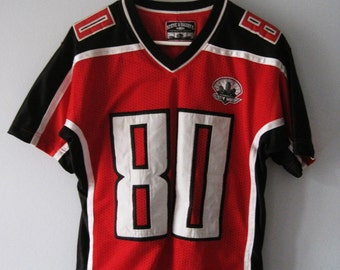 VINTAGE Red and Black Jersey Canada Sports - Size S