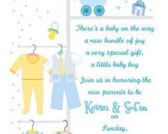 Baby Girl or Baby Boy Shower