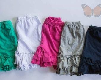 Girls Ruffle Shorts (Double Ruffle)
