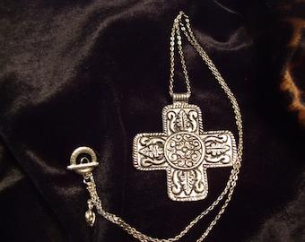 Silver Finish Cross