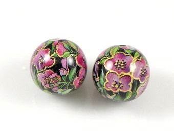 Japanise TENSHA beads 12 mm pair/5 pcs/10 pcs