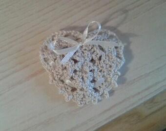 Confetti heart bag