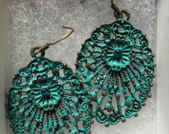 Antique handmade earrings