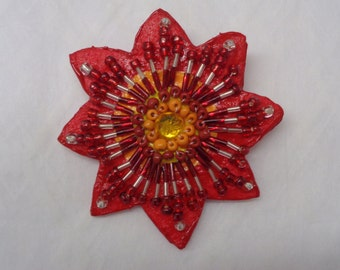 Red Blossom - Pin