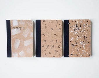 Kraft Notebook Set