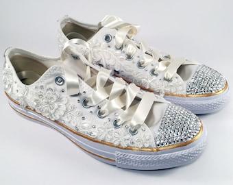 chaussures converse pour le mariage Akileos