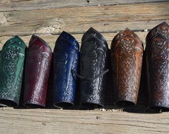 Pointed Celtic Bracers