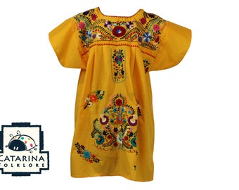 Authentic Mexican Bohemian Summer Dress