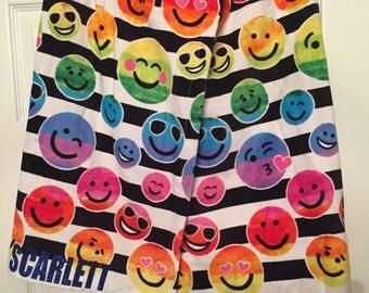 Kids Emoji Spa Wrap Customized