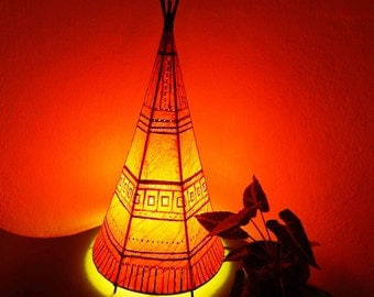 Table lamp/Free Shipping!/bedroom lamp/artistic indian lamp