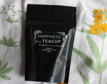 MADELEINE'S CHAI - Organic loose leaf tea hand blended in the Yarra Valley