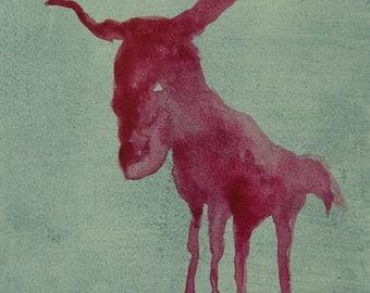 Mirage of ox   illustration   Press   Buffalo