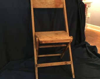 1940's Snyder Wooden Chair
