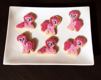 My Little Pony Pinkie Pie Sugar Cookies