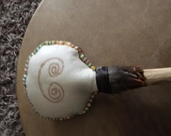 Shamanic Drum Beater Hand Made in the Uk  to order