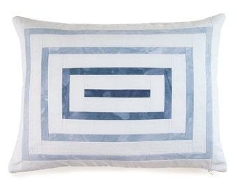 Ripple Pillow - Blue