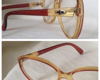 Christian Dior eyeframe vintage eyewear glasses