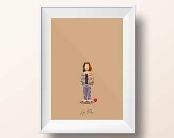 Jeff Bridges - The Big Lebowski Poster