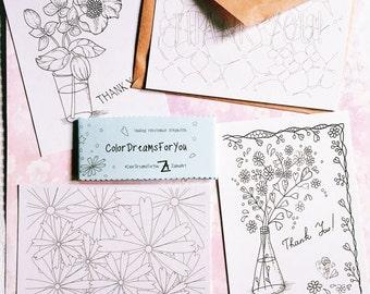 "PostCards ""Flowers"""