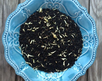 Wild Plum & Chrysanthemum Loose Leaf Tea and Hand-Filled Tea Bags