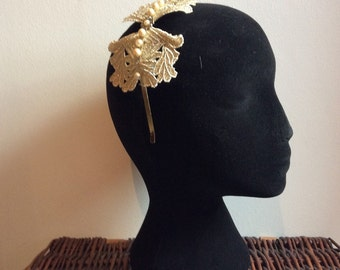 Gold & Pearls - Hairband #4