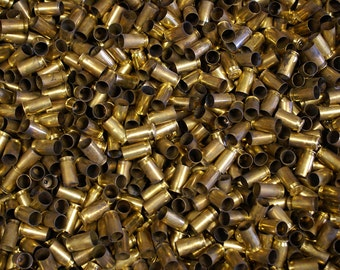 45 ACP Once Fired Brass 2000 + pieces. This brass is great for reloading, jewelry making and other crafts.