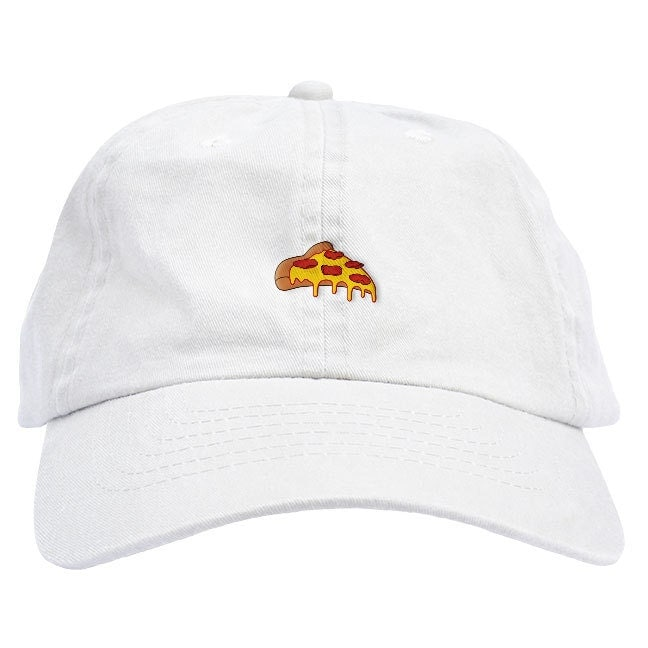 09dfaba31ddc1 Pizza Dad Hat Baseball Cap Low Profile