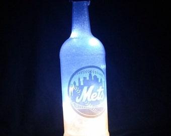 New York Mets bottle light