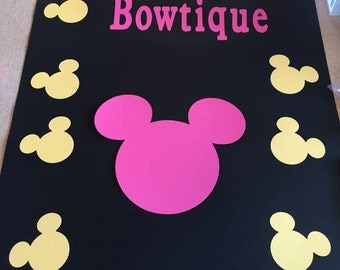 First Year Disney Minnie Mouse Poster