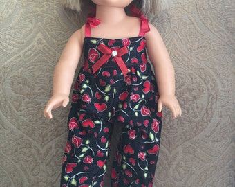 Handmade Jumpsuit for American Girl or Other 18 Inch Dolls