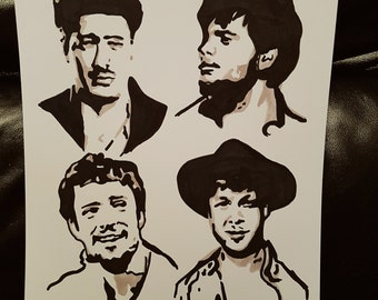 Mumford and Sons portrait