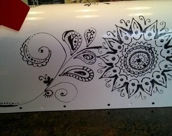 Painted Mailbox 1